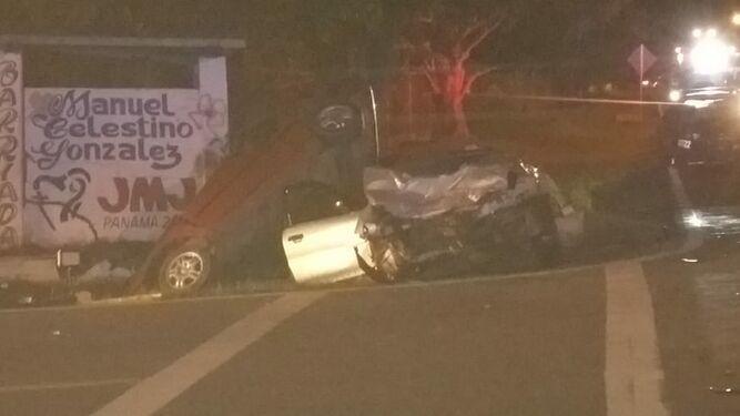 Accidente vehicular deja tres muertos en Pocrí, Aguadulce