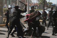 Heridos y detenidos durante protesta en Managua