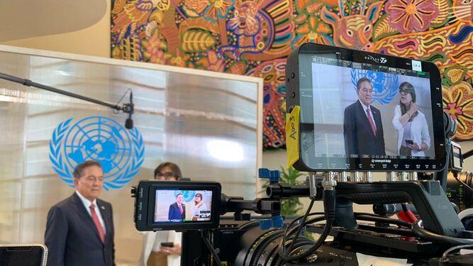 Cortizo plantea unidad, lucha contra la corrupción y cumplir lo que se firma en la ONU