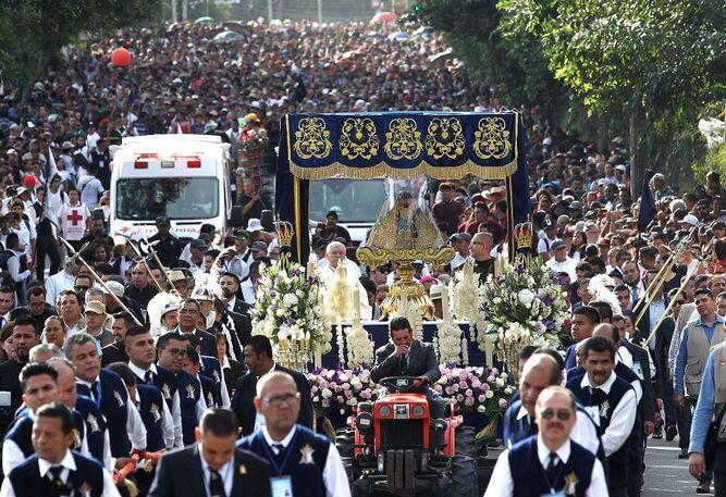 Virgen de Zapopan celebra primera romería como patrimonio de la humanidad