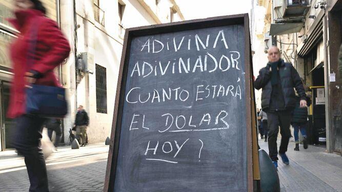 Estabilizar el peso será la meta del gobierno argentino