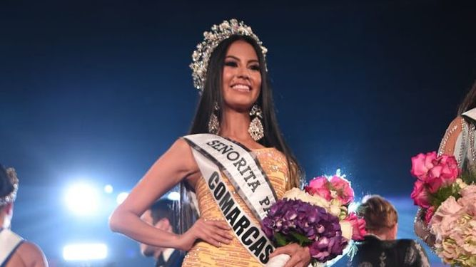 Rosa Montezuma es Señorita Panamá para Miss Universo