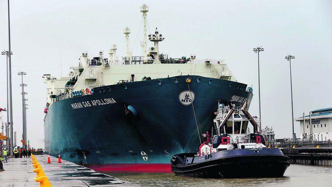 El Canal se abre al negocio del LNG