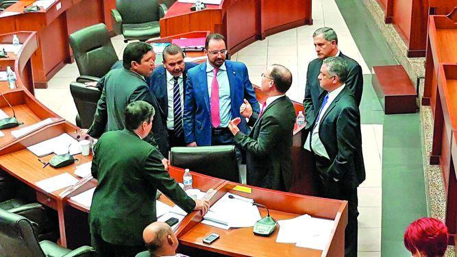 Pleno devuelve a primer debate el 245