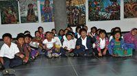 Para incentivar a los niños a leer en inglés en Boquete