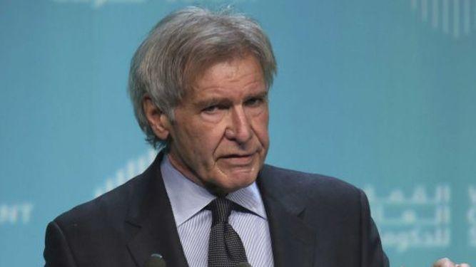 Harrison Ford ataca a Trump y líderes que niegan cambio climático