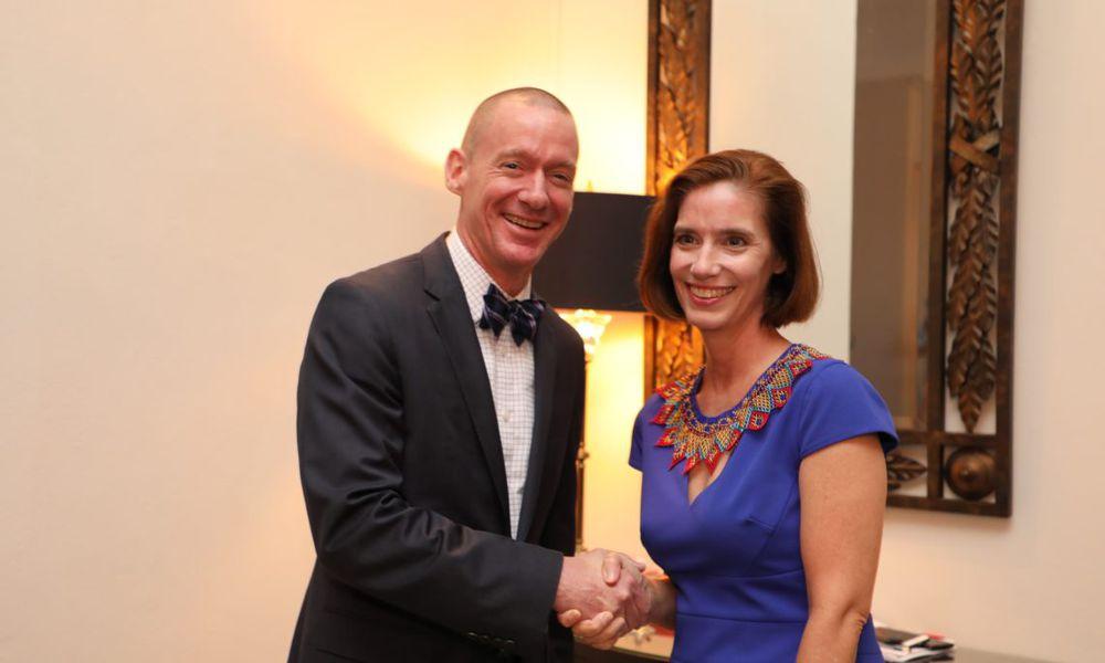Philip Laidlaw asume como jefe de misión interino en la Embajada de Estados Unidos