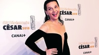 Alfombra y 'flashes' en la gala del César
