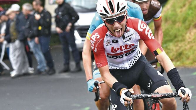 Muere el ciclista belga Bjorg Lambrecht tras caída