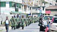 Maduro defiende a Correa ante protestas