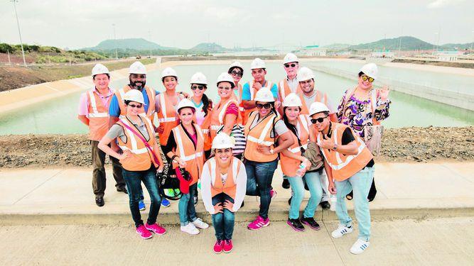 MSL Panamá visita el Canal ampliado