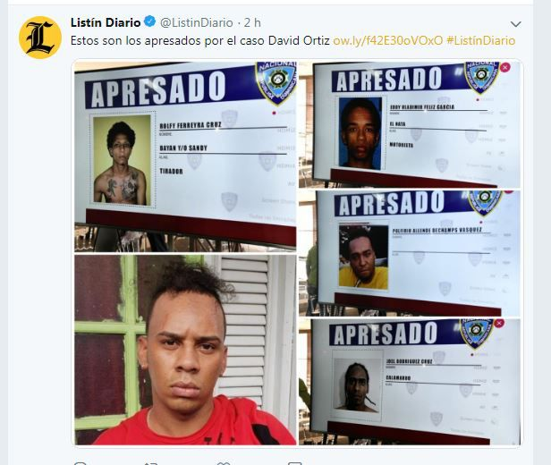 Ofrecieron $8 mil a sicarios para matar a David Ortiz; sigue sin esclarecerse el móvil