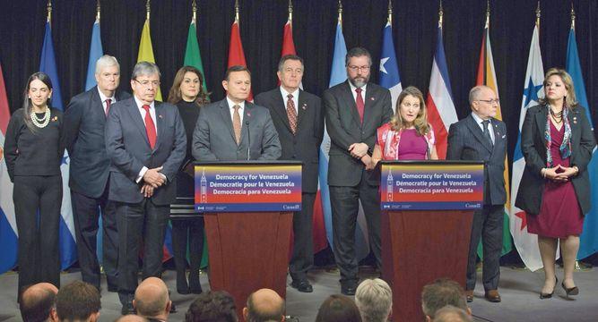 Europa y el Grupo de Lima reconocen a Guaidó como presidente de Venezuela