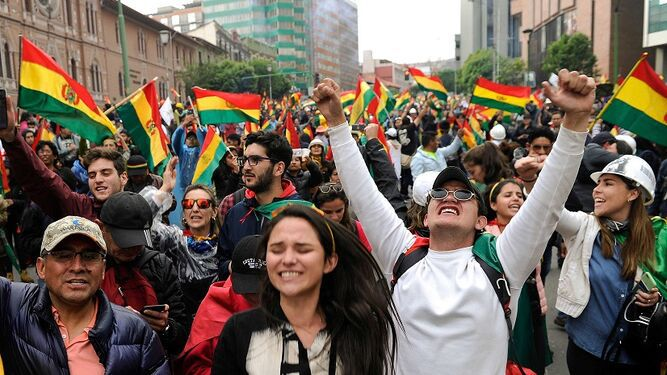 Bolivia amanece sin presidente