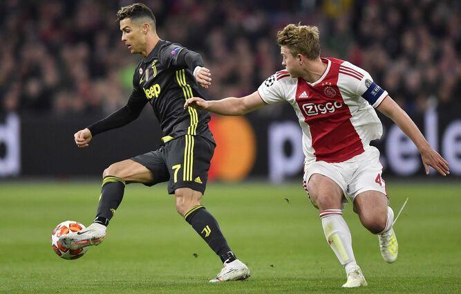 Cristiano anota, pero Ajax rescata empate 1-1 ante Juventus