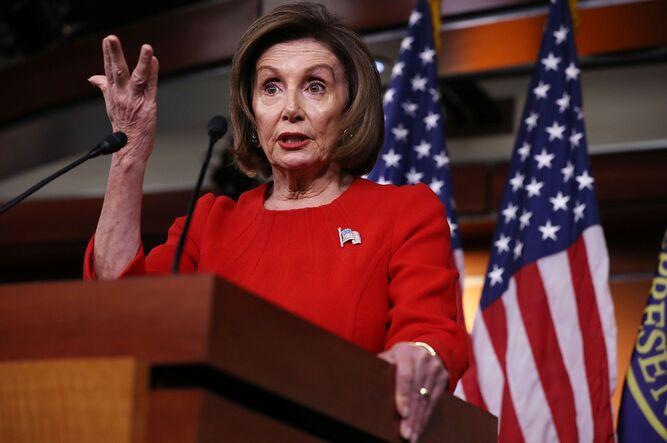 Nancy Pelosi acusó a Trump de 'soborno' en el caso ucraniano