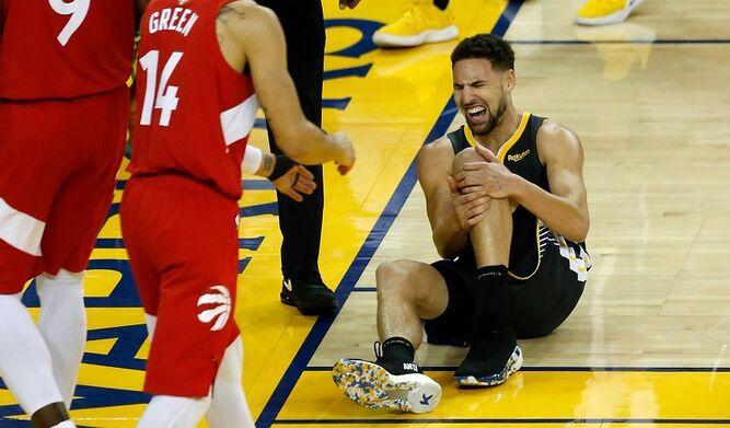 Klay Thompson podría perderse toda la temporada de los Warriors