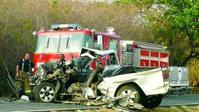 Santeños igualan número de accidentes de tránsito