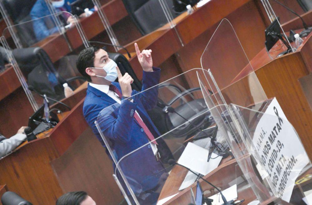Diputado Juan Diego Vásquez habló de 'pacto de impunidad' y del que manda en el país