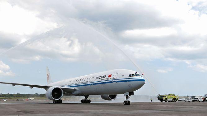 Aeronáutica Civil aprobó 28 vuelos semanales a Air China