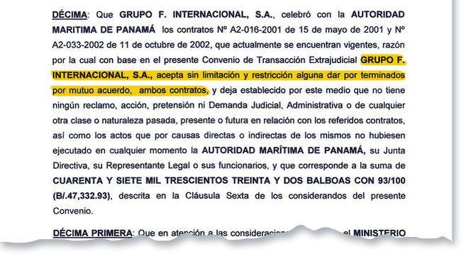 Relleno que hizo Grupo F. en Amador es del Estado