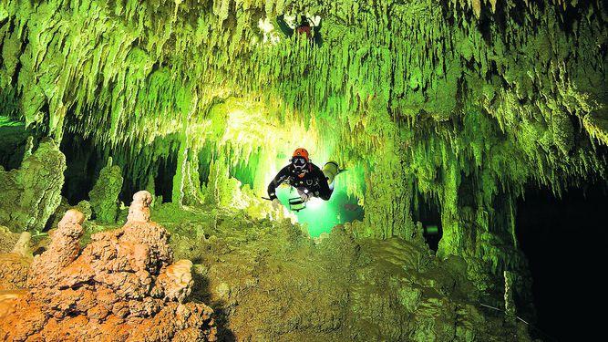 La cueva inundada más grande