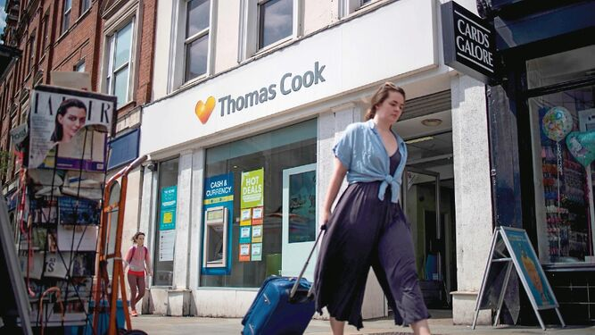 Thomas Cook intenta evitar la quiebra