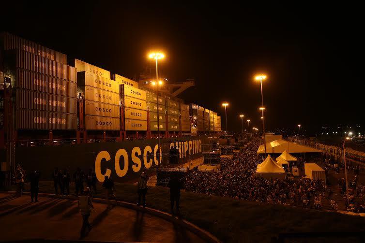 Inauguración de la ampliación del Canal de Panamá: Transmisión minuto a minuto