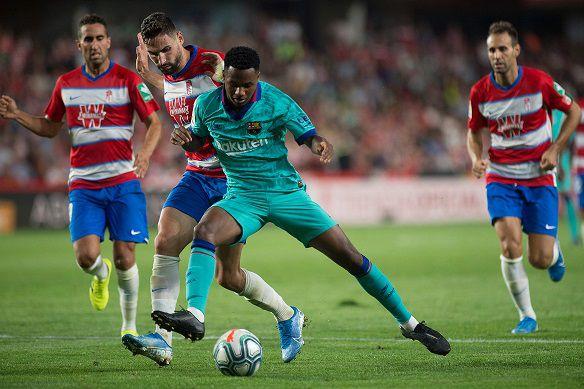 El Barcelona naufraga en Granada y el Atlético encalla contra el Celta