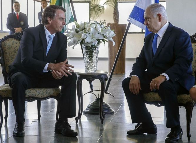 Netanyahu y Bolsonaro sellan una 'nueva alianza'