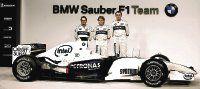 BMW Sauber echó a andar con su nuevo bólido