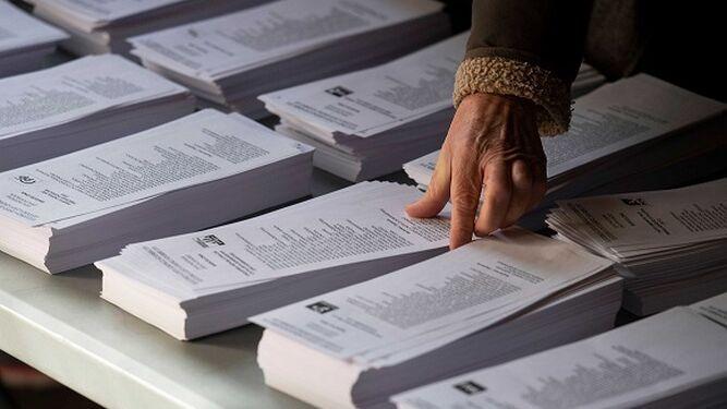 Disminuye la participación en las elecciones españolas, según cifras oficiales