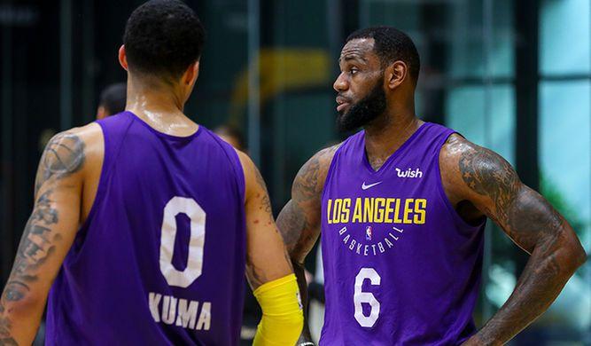 Lakers esperan contar con LeBron James a partir del sábado ante los Warriors