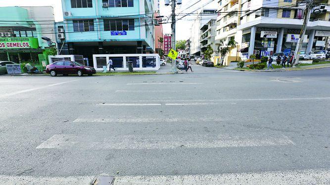 Calles, sin señalización