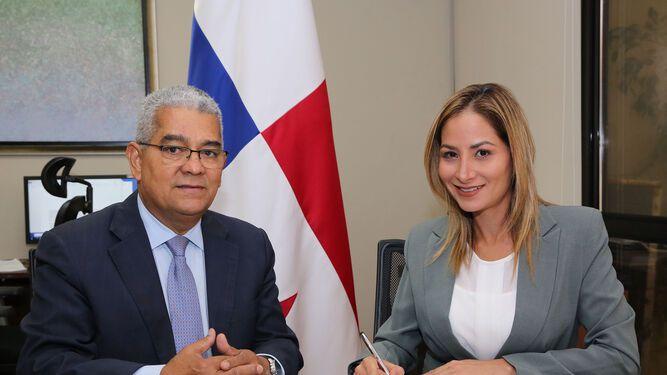 Hija del diputado Roberto Ábrego fue designada cónsul en Génova, Italia