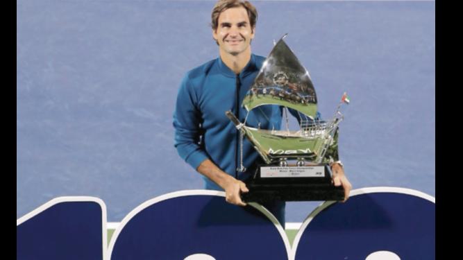 Roger Federer agranda su leyenda como profesional