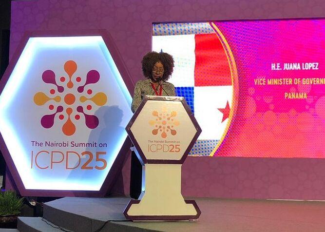 Panamá reitera compromiso con protección a la mujer