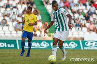 El Córdoba gana en el último minuto con asistencia de cabeza de Fidel Escobar