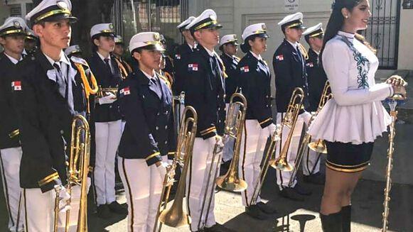 Banda musical del José Daniel Crespo obtiene el primer lugar en concurso celebrado en Colombia