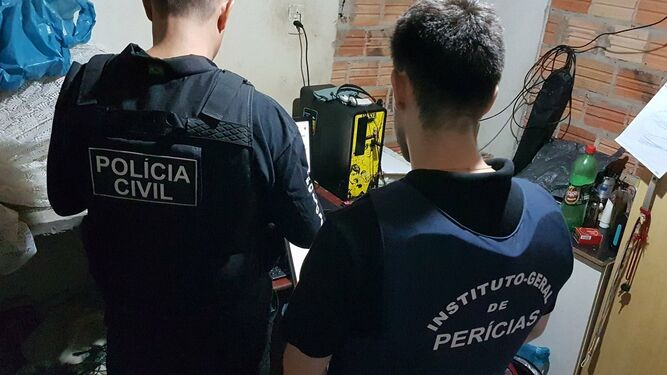 Más de cien detenidos por operar red de pornografía infantil en Brasil