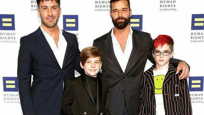 'Estamos embarazados', así reveló Ricky Martin que espera a su cuarto hijo junto a su esposo