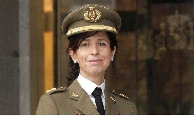 Por primera vez una mujer es ascendida a general del ejército español