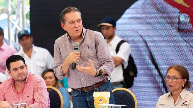 Nito Cortizo: 'Algunos quieren desviarnos de nuestra trocha'
