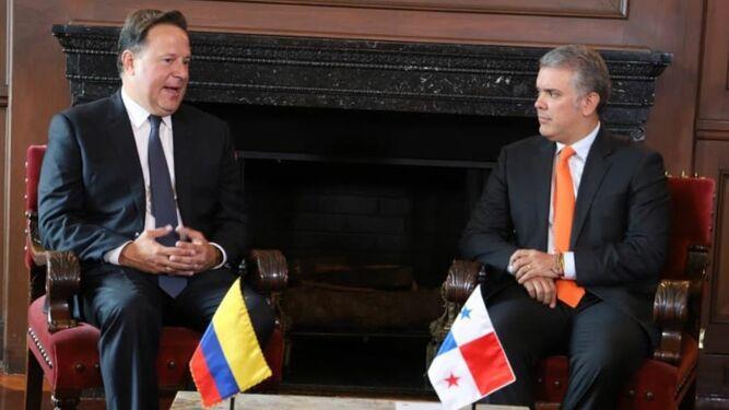 La crisis en Venezuela fue abordada por los presidentes Varela y Duque