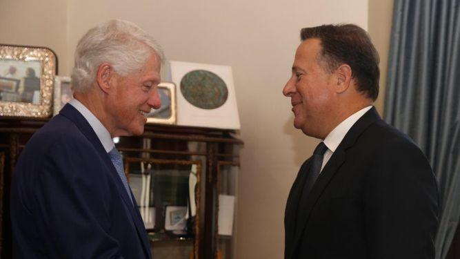 Expresidente estadounidense Bill Clinton inaugurará parque solar en Chiriquí