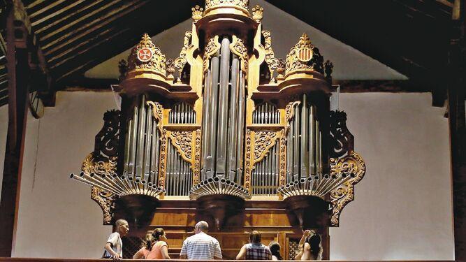 Conciertos de órgano en las iglesias del Casco Antiguo