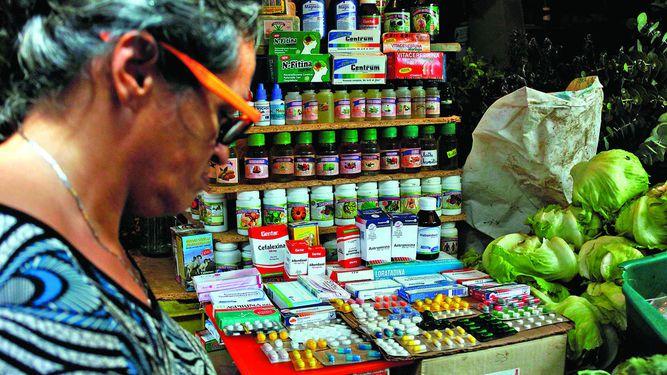 Clandestinidad en venta de medicinas