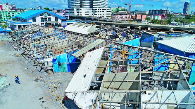 Obras en el Mercado de Mariscos se completarán en abril próximo