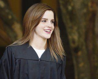 Emma Watson se graduó de la universidad