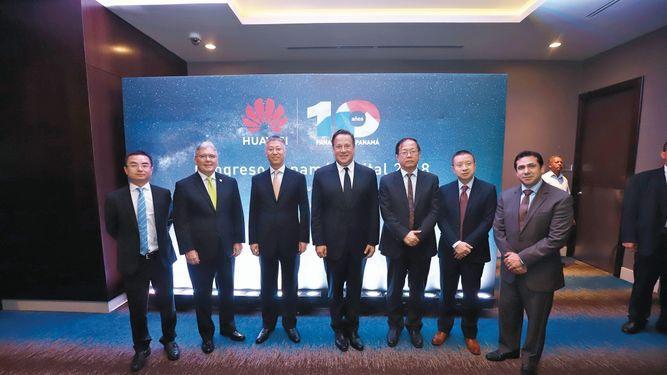 Huawei celebró sus 10 años con el Congreso Panamá Digital 2018